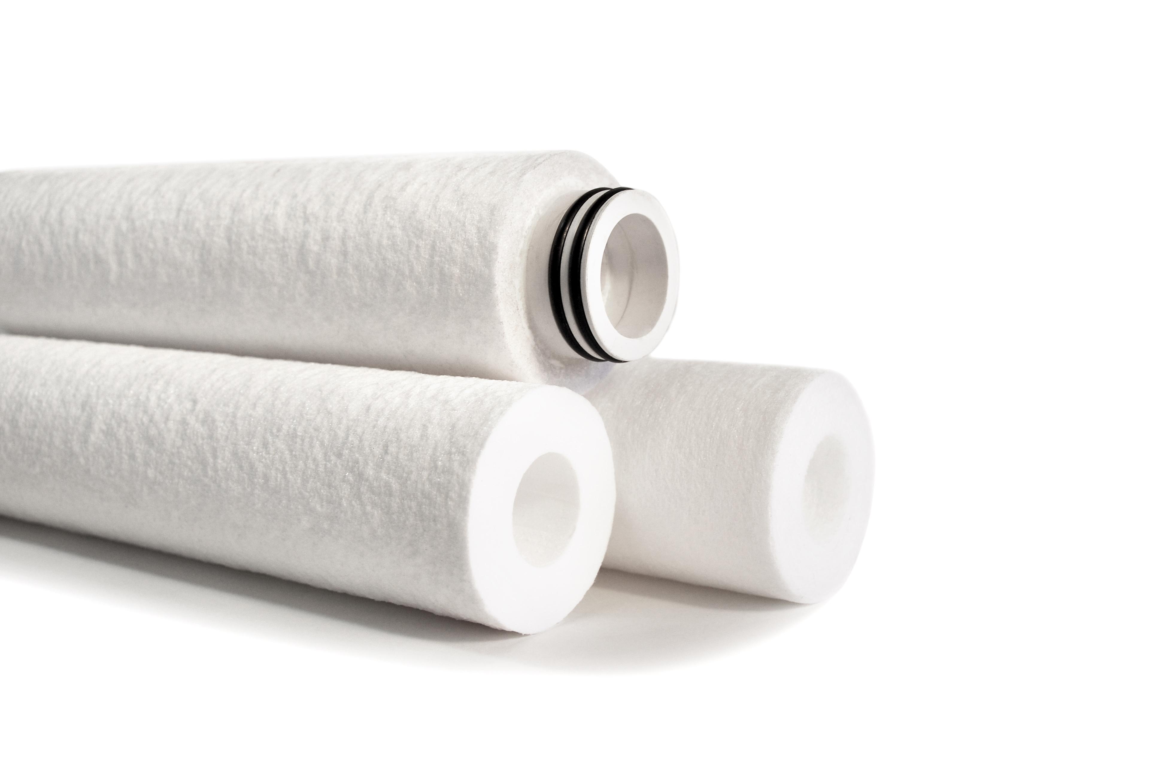 محصولات شرکت - فیلتر پلیمری عمقی ( فشرده )